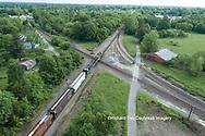 63807-01020 Freight train on Canadian National railroad near Kinmundy, IL