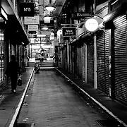 Grotty alley, Melbourne, Australia (February 2004)
