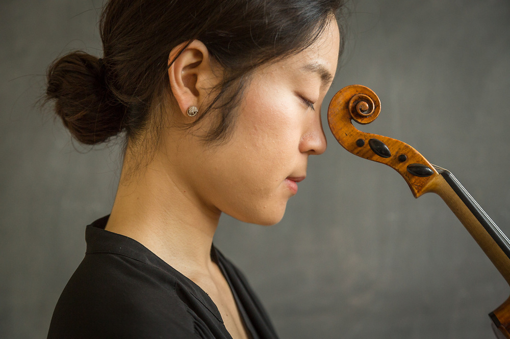 """""""I am someone who repeats multiple excerpts every single day...and this is completely non artistic.""""  - Violinist Hyejin Koh while teaching at the Sitka Fine Arts Camp, Sitka, Alaska"""