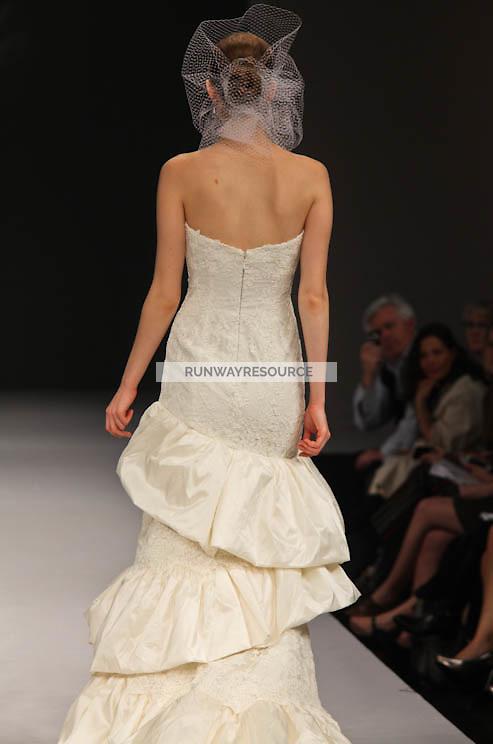Badgley Mischka runway show during New York Bridal Spring 2012