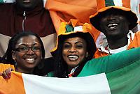 Fotball<br /> Tyskland v Elfenbenskysten<br /> Foto: Witters/Digitalsport<br /> NORWAY ONLY<br /> <br /> 18.11.2009<br /> <br /> Fans<br /> Fussball Elfenbeinkueste<br /> Fussball Testspiel Deutschland - Elfenbeinkueste 2:2