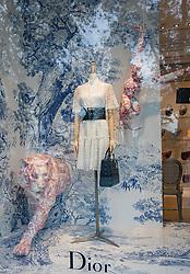 Christian Dior Store Window