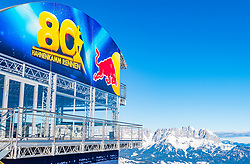 10.01.2020, Streif, Kitzbühel, AUT, FIS Weltcup Ski Alpin, Schneekontrolle durch die FIS, im Bild Starthaus // start house during snow control by the FIS for the FIS ski alpine world cup at the Streif in Kitzbühel, Austria on 2020/01/10. EXPA Pictures © 2020, PhotoCredit: EXPA/ Stefan Adelsberger