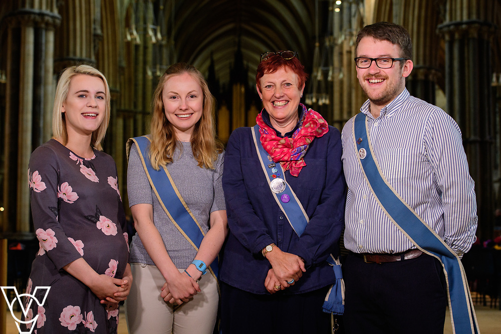 Lincoln Cathedral staff photographs.<br /> <br /> Picture: Chris Vaughan Photography for Lincoln Cathedral<br /> Date: June 12, 2018