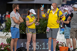 Raateland Gert Jan, Michiels Inge, Van Lent Jeroen<br /> Olympic Games Tokyo 2021<br /> © Hippo Foto - Dirk Caremans<br /> 21/07/2021