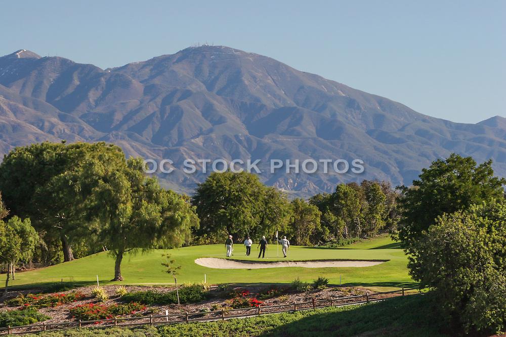 Laguna Hills Golf Course Stock Photo