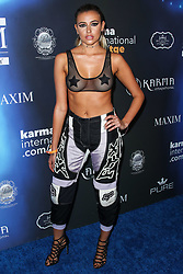 2017 MAXIM Halloween Party held at Los Angeles Center Studios on October 21, 2017 in Los Angeles, California. 21 Oct 2017 Pictured: Monica Sims. Photo credit: IPA/MEGA TheMegaAgency.com +1 888 505 6342
