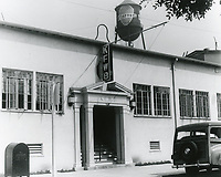 1946 KFWB Radio at Fernwood & Bronson Ave.