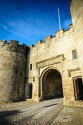 The main gate to Stirling Castle, Stirlingshire, Scotland<br /> <br /> (c) Andrew Wilson   Edinburgh Elite media