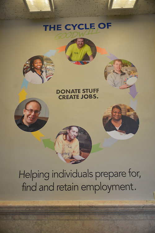 The Cycle of Goodwill - Donate stuff. Create jobs.