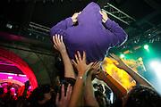 Paris, France. 23 Novembre 2007.Le public pendant le concert des Naive New Beaters au Showcase...Paris, France. November 23rd 2007..The audience during the Naive New Beaters' concert at the Showcase.