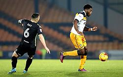 JJ Hooper of Port Vale goes past Antony Kay of Bury - Mandatory by-line: Robbie Stephenson/JMP - 20/01/2017 - FOOTBALL - Vale Park - Stoke-on-Trent, England - Port Vale v Bury - Sky Bet League One