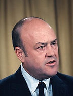 Mel Laird, Secretary of Defense in the Nixon Adminstration at the Pentagon in August 1969.<br />Photo by Dennis Brack bb72