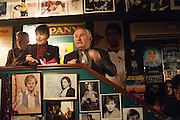 JOHN BIRD MAKING A SPEECH, launch of The Necessity of Poverty by John Bird published by Quartet. Gerry's Club, 52 Dean Street, London, 18 December 2012.