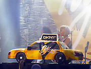 Celebrities at the DKNY 25th Birthday Bash in NYC.<br />