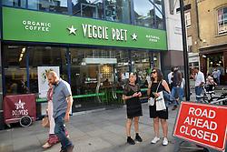 Veggie Pret, new vegetarian-only outlet from Pret-A-Manger, London UK