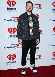 LAS VEGAS, NV, USA - SEPTEMBER 22: 2018 iHeartRadio Music Festival - Night 2 – Press Room held at T-Mobile Arena on September 22, 2018 in Las Vegas, Nevada, United States. 22 Sep 2018 Pictured: Justin Timberlake. Photo credit: Image Press Agency/MEGA TheMegaAgency.com +1 888 505 6342