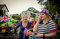 A few shots from the Olympic Torch Relay as it climbed Church Hill, Totland Bay, on the Isle of Wight. Isle of Wight Lifestyle Photography