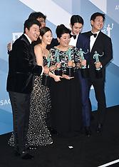 26th Annual Screen Actors Guild Awards - Press Room 19 Jan 2020