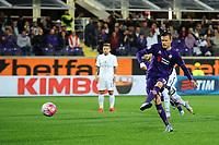 Josip Ilicic gol 1-0 calcio di rigore penalty Goal celebration Fiorentina <br /> Firenze 04-10-2015 Stadio Artemio Franchi Football Calcio Serie A 2015/2016 Fiorentina - Atalanta Foto Andrea Staccioli / Insidefoto