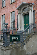 The Little Museum Of Dublin on 05th April 2017 in Dublin, Republic of Ireland. The museum is located in an 18th-century Georgian town house owned by Dublin City Council.