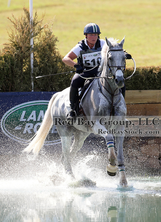 Becky Holder and Courageous Comet at the 2010 Land Rover USEA American Eventing Championships in Fairburn, Georgia.