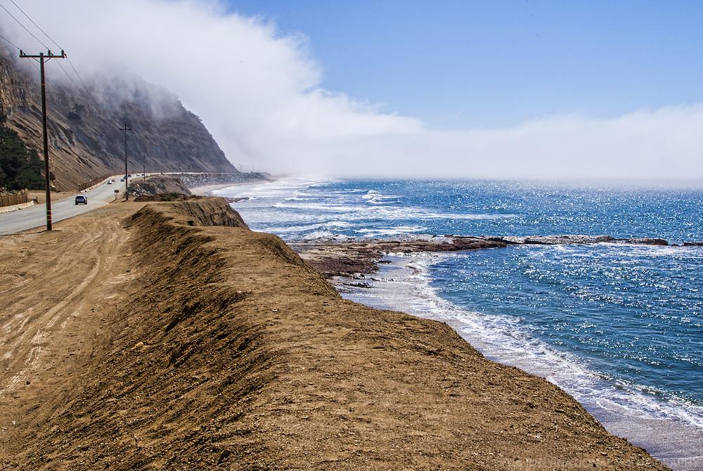 Pacific Coast Highway, Santa Cruz County, California