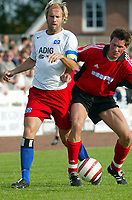 Fotball<br /> Tyskland 2004/05<br /> Hamburger SV<br /> Treningskamp<br /> 7. juli 2004<br /> Foto: Digitalsport<br /> NORWAY ONLY<br /> Sergej Barbarez HSV, Guido Gehrke