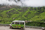Pragya runs the mobile school bus; it visits migrant worker community across high altitude area in the Central Himalayas. There are 9 different buses that visit villages all over Uttarakhand, Central Himalayas, India.