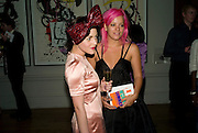 JAMIE WINSTON AND LILY ALLEN, 240th Royal Academy Summer Exhibition fundraising private view. Piccadilly. London.4 June 2008.  *** Local Caption *** -DO NOT ARCHIVE-© Copyright Photograph by Dafydd Jones. 248 Clapham Rd. London SW9 0PZ. Tel 0207 820 0771. www.dafjones.com.