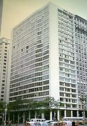 Modern architecture office block in Rio de Janeiro, Brazil 1962