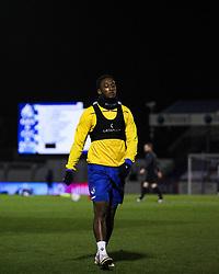 Brandon Hanlan of Bristol Rovers prior to kick off- Mandatory by-line: Will Cooper/JMP - 18/11/2020 - FOOTBALL - Memorial Stadium - Bristol, England - Bristol Rovers v Chelsea U21 - Papa John's Trophy