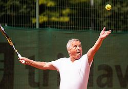 Oto Giacomelli, Drzavno prvenstvo novinarjev v tenisu 2019, on June 12, 2019 in Tivoli, Ljubljana, Slovenia. Photo by Vid Ponikvar / Sportida