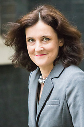 Downing Street, London June 2nd 2015. Northern Ireland Secretary Theresa Villiers arrives at 10 Downing Street to attend the weekly Cabinet Meeting.