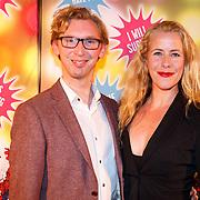 NLD/Amsterdam20151111 - Premiere Priscilla, Queen of the Desert, Maaike Boerdam en Mark van Haasteren