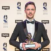 NLD/Hilversum/20190311  - Uitreiking Buma Awards 2019, Diederik van Elsas wint de award Internationaal nummer 3