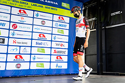 Tadej POGACAR of UAE TEAM EMIRATES prior to 2nd Stage of 27th Tour of Slovenia 2021 cycling race between Zalec and Celje (147 km), on June 10, 2021 in Slovenia. Photo by Matic Klansek Velej / Sportida