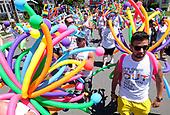 2017 Gay Pride Parade in Long Beach