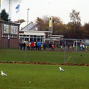 Grote brand Quest International Naarden, voetbal SV Huizen afgelast wegens asbest in rook
