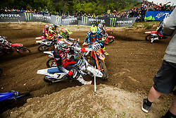 Antonio Cairoli #222 of Italy during MXGP Trentino race two, round 5 for MXGP Championship in Pietramurata, Italy on 16th of April, 2017 in Italy. Photo by Grega Valancic / Sportida