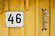 Traditional wooden architecture, Trakai Historical National Park, Lithuania. © Rudolf Abraham.