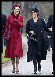 December 25, 2018 - Sandringham, United Kingdom - CATHERINE, Duchess of Cambridge <br />