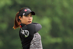 June 16, 2018 - Belmont, Michigan, United States - Moriya Jutanugarn of Bangkok, Thailand hits from the 5th tee during the third round of the Meijer LPGA Classic golf tournament at Blythefield Country Club in Belmont, MI, USA  Saturday, June 16, 2018. (Credit Image: © Amy Lemus/NurPhoto via ZUMA Press)