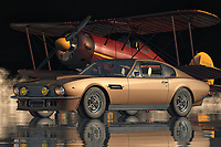 The seventies sports car from Aston Martin is known as the V8 Vantage. The Aston Martin V8 Vantage is arguably one of the most successful sports cars from the company, which also produced the high-speed four-wheeler Piltram, and the high-performance sports car racing car the Cooper Tumbles. In 1977, the company brought back the popular V8 model to the market, and it became one of the most desirable sports car models ever.<br /> <br /> The Aston Martin V8 Vantage was redesigned in keeping with the classic styling of its predecessors, but with the aim of improving on its top-speed performance and power output. This involved a number of design changes, such as shorter front overhang, reworking the kidney grille to produce a lower air flow around the front wheel, using a single-piece air duct that allowed for better cooling in high-speed cornering, and lengthening the wheelbase by 25mm. These modifications reduced the overall length of the car by about three inches, although this depended largely on the overall size of the car, as small changes in overall length can affect the handling balance of a car. One of the other major design changes to the V8 Vantage was the addition of a three-inch diameter rear diffuser which improves the aerodynamic efficiency of the car by reducing air resistance and enhancing the down force from the tires.<br /> <br /> Up to this day, the Aston Martin V8 Vantage and its predecessors remain very popular amongst sports car lovers.