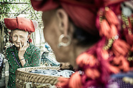 Elderly Red Dao women living in Thanh Kim Commune, Sapa District, Lao Cai Province, Vietnam, Southeast Asia