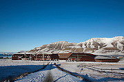 University - UNIS and museum  in the town of Longyearbyen, Svalbard. The northernmost settlement with more than 1,000 people on earth, and is quite well-serviced town, with an airport and university and hospital, just 1300km from the North Pole.