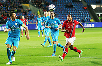 Fotball , 11. september 2012 , VM-kvalifisering , Norge - Slovenia 2-1<br /> Norway - Slovenia , World Qual.<br /> <br /> Daniel Braaten , Norge<br /> Bostjan Cesar , Slovenia