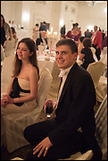 PRINCESS TATIANA LOBANOV-ROSTOVSKY;  MICHAEL ZIADIE-CAMPBELL, The St. Petersburg Ball. In aid of the Children's Burns Trust. The Landmark Hotel. Marylebone Rd. London. 14 February 2015. Less costs  all income from print sales and downloads will be donated to the Children's Burns Trust.
