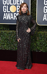Kit Harington at the 75th Annual Golden Globe Awards held at the Beverly Hilton Hotel on January 7, 2018 in Beverly Hills, CA ©Tammie Arroyo-GG18/AFF-USA.com. 07 Jan 2018 Pictured: Isabelle Huppert. Photo credit: MEGA TheMegaAgency.com +1 888 505 6342