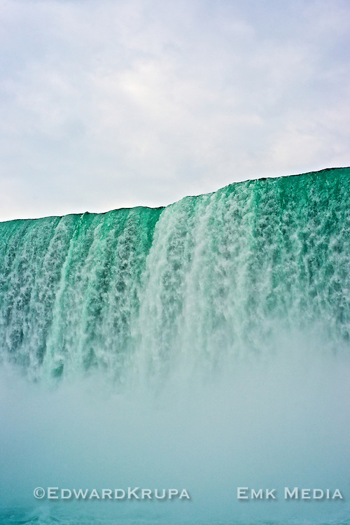 Niagara Falls from the river.